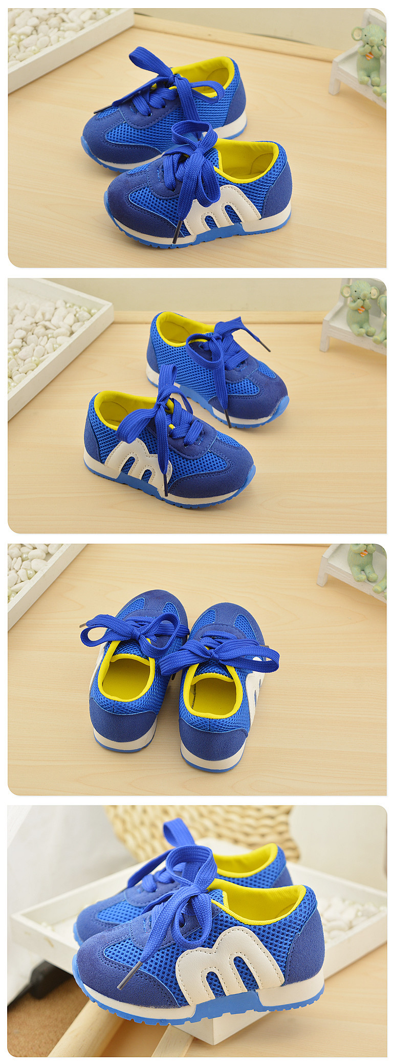 19 New Brand Spring Comfortable Sneakers Boy Girl Children's Sports Casual Shoes Breathable Mesh Baby Kids Soft Bottom Shoes 4