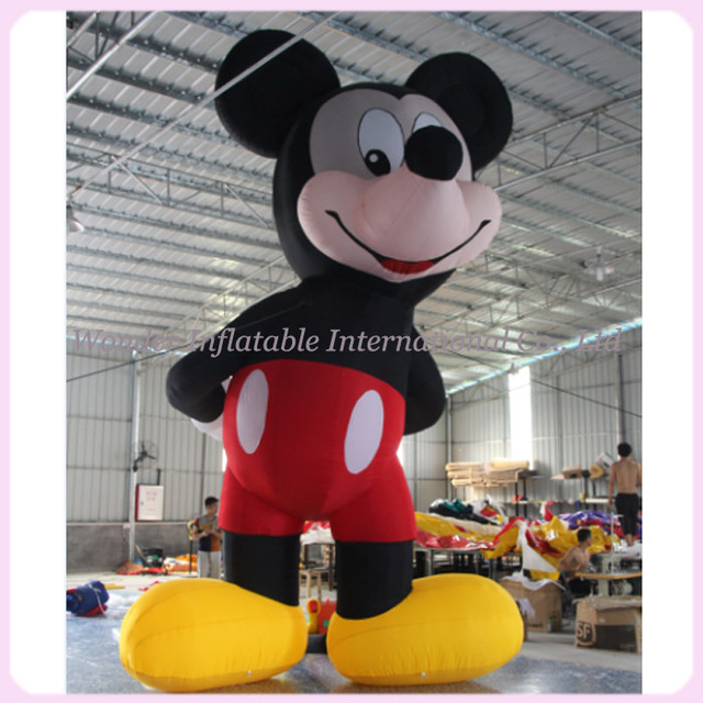 2015 hot sale 6M oxford inflatable cartoon for advertising