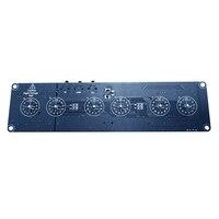DIY In14 In4 Nixie Tube Digital LED Clock Gift Circuit Board Kit PCBA No Tubes