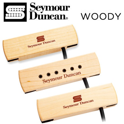 Seymour Duncan Woody Series Soundhole Pickup Made in USA with Retail Packaging
