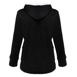 Women's Warm Coat Jacket Outwear Winter Hooded Long Parka Overcoat Tops 4