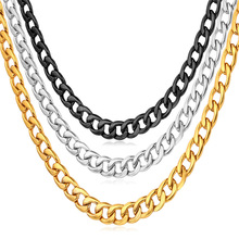 Necklaces For Men Stainless Steel Never Fade Jewelry Fashion 46/55/71 CM 5 MM Chain Necklace N227