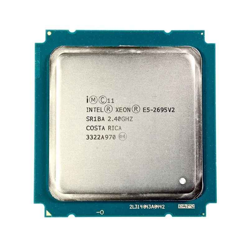 Intel Xeon E5-2695 v2 2.40GHz 30MB 12-Core 115W LGA 2011 SR1BA E5 2695V2 Server Processor cpu
