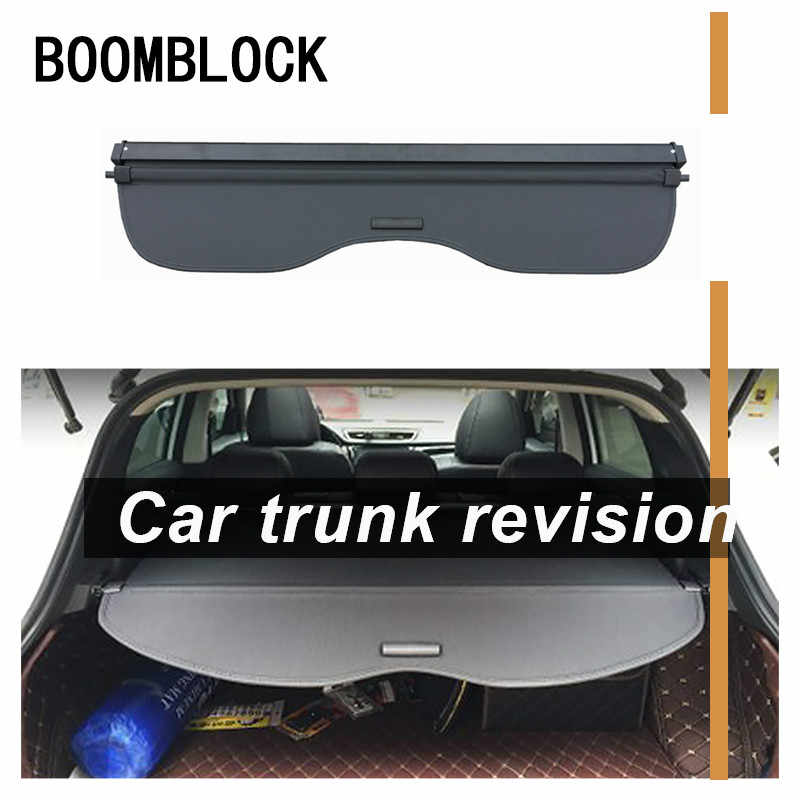 BNHHB Car Retractable Rear Trunk Parcel Shelf For Nissan Qashqai 2016 2017 2018 Auto Shelves Accessories Security Shield Cargo Luggage Security Cover Shade Shielding Organizer