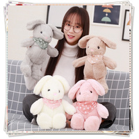 Plush Rabbit Stuffed Toys Ty Dolls Stuffed Animals Fluffy Bunny Spongebob Korean Plush Toys Valentine S