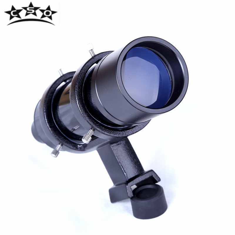 CSO 7x50 Finder Scope HD Broadband Blue Film Coating Astronomical Professional Space Telescope Optics Finder Scope for BOSMA цена