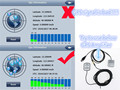 Conjunto completo Auto Del Coche GPS Antena Amplificador de Señal Booster Mejora Dispositivo Con Navegador GPS Receptor + Transmisor $ NUMBER DB Para El Teléfono