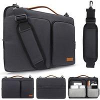 Nylon Laptop bag case 13/14/15/15.6 inch Nylon airbag shoulder handbag computer bags Waterproof Messenger Case for MacBook Air