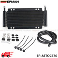 EPMAN Racing Car 11 x 5-3/4 x 7/8 in Automatic Transmission Plate & Fin Fluid Cooler Kit EP-AETOC676-FS