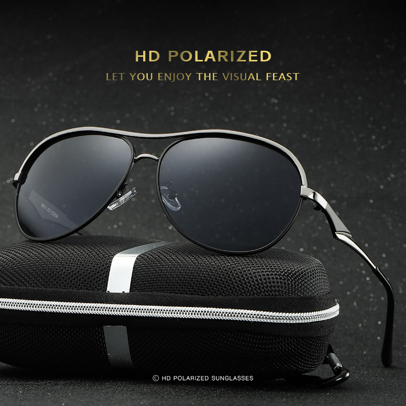 2017 Men Fashion Sunglasses Women Driving Polarized Glasses Driver UV400 Pilot Sun Glasses Newest oculos de sol outdoor HD or цена