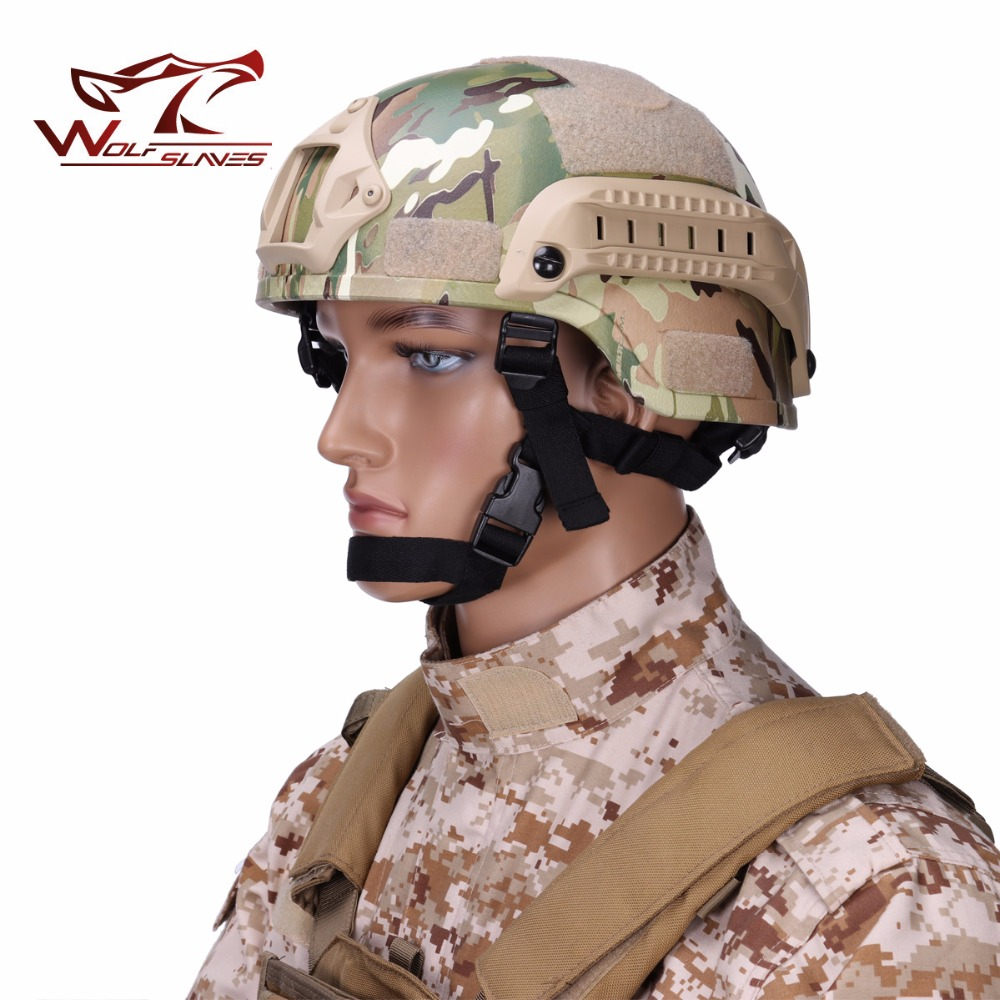 Tactical MICH 2000 Helmet Action Version Military Force Safety Helmets For Hunting Camping Outdoor activities