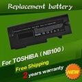 Bateria do portátil para toshiba jigu nb100-12h nb100-12m nb100-12n nb100-127 nb100-128 nb100-12a nb100-12s nb100-139 nb100-c02