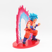 Super Saiyan Goku Blue SSGSS Kaioken Model Toy (17 CM)