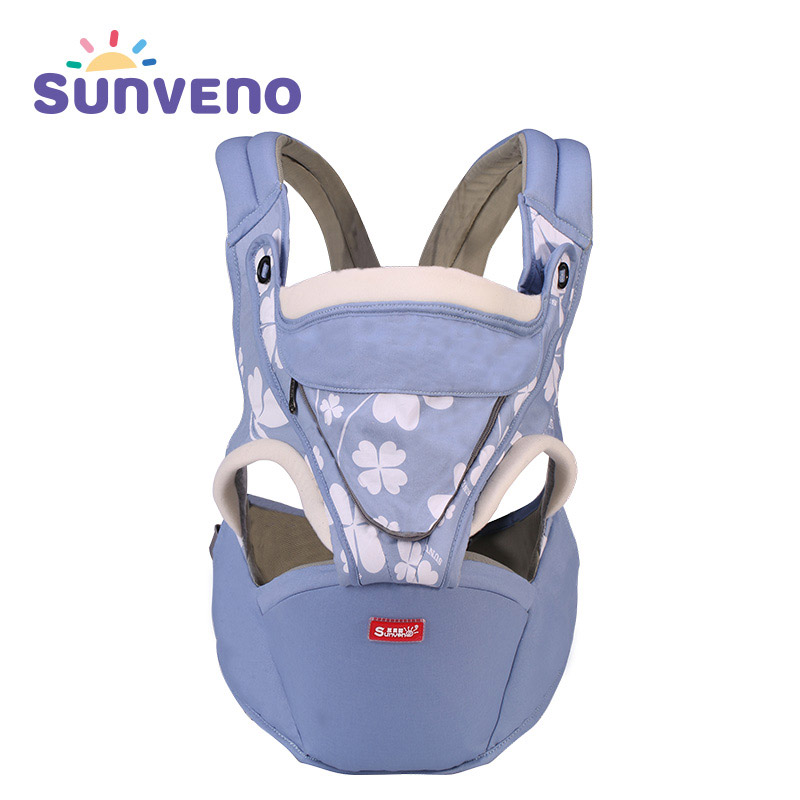 SUNVENO Baby Carrier 0-36 Months Breathable Front Facing Baby Carrier Comfortable Luxury Sing Mochila Infantil Chicco Manduca baby carrier 4 6 months front carry portabebes manduca cotton