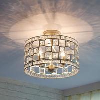 Современные Потолочные/люстра/металлический барабан Золотой светильник E14 светильник потолочный светильник для гостиной столовой прихожа