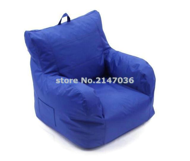 Big Joe Bean Bag Chair Arm Accent Armchair Original Beanbag Sofa Cushion With Rest Waterproof And Dirt Proof Handle Design