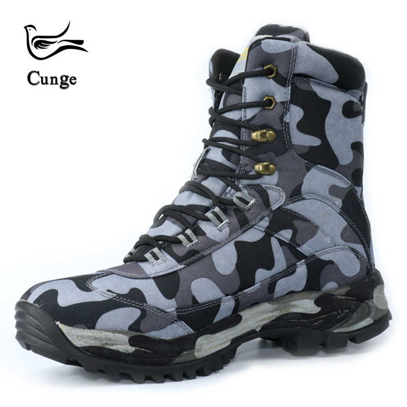 34ce576c80 ... Delta Tactical Boots Men Military Desert American Combat Boots Outdoor  Shoes Waterproof Wearable Hiking Boots ...