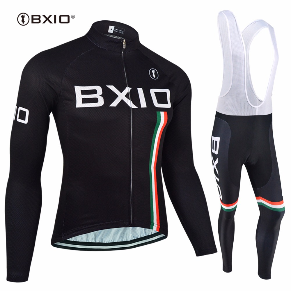 BXIO Invierno Maillot Ciclismo Hombres font b Cycling b font Set Thermal Fleece MTB Bike Clothing
