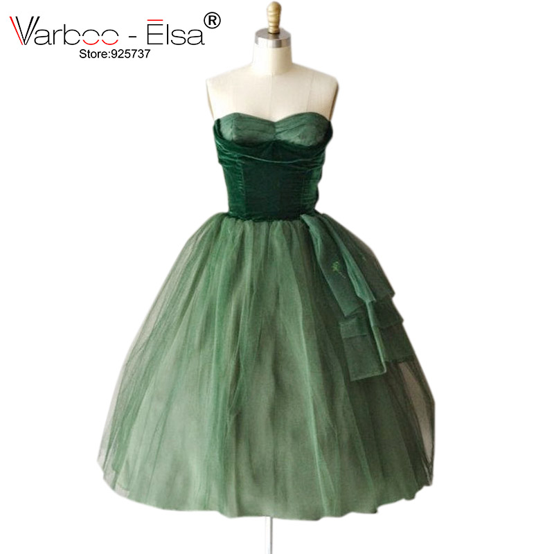 free shipping New Pleated Short Evening Dress A Line Sweetheart Organza emerald green prom dress Prom Party Dresses