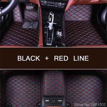 Car floor mats for BMW 3 series E46 E90 E91 E92 E93 F30 F31 F34 GT 5D car styling carpet floor liners image