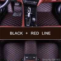 Custom car floor mats for MG All Models MG3 MG6 MG7 ZT GS HS RX5 car styling auto floor mat