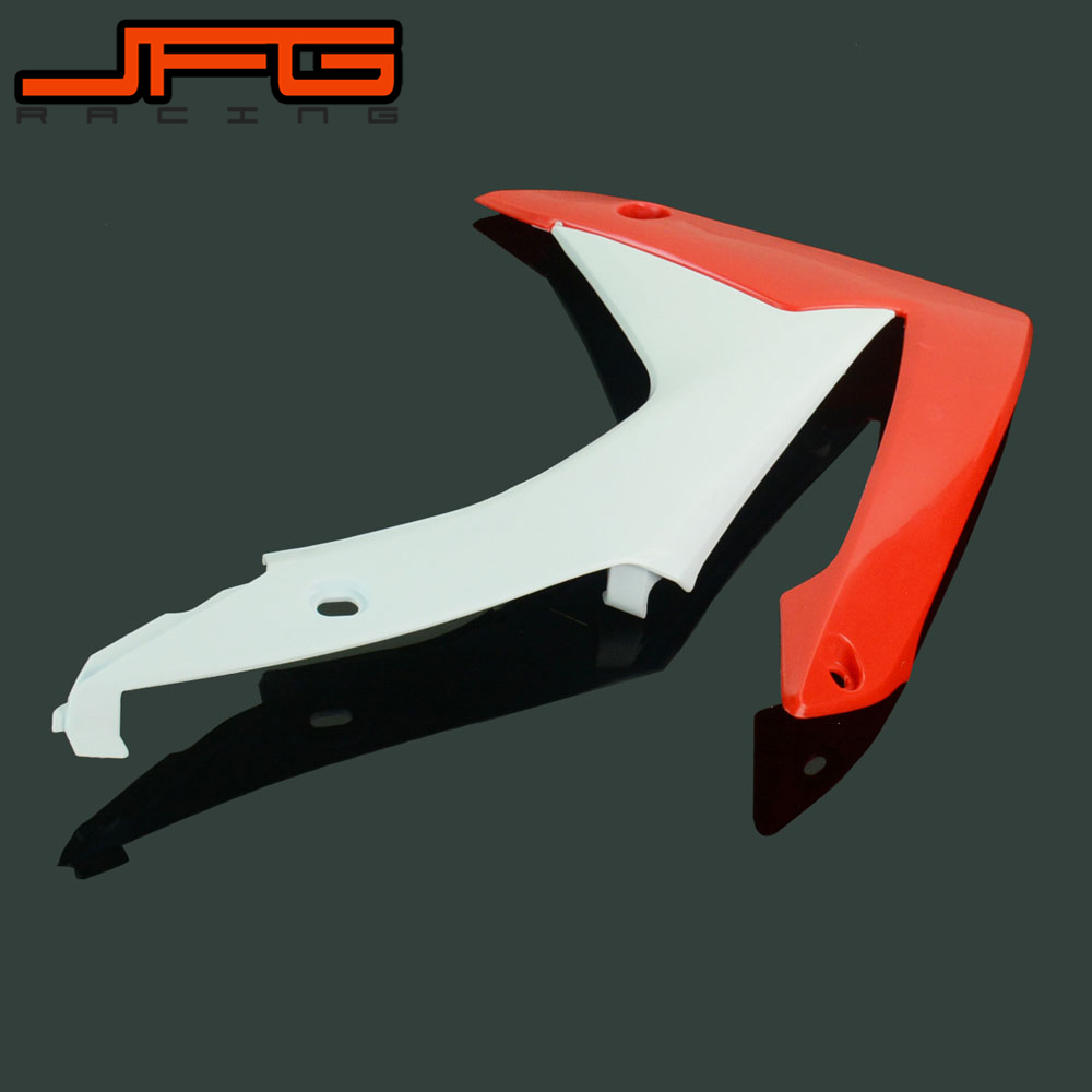 Motorcycle Front Left Side Plastic Cover Fenders Mudguards For HONDA CRF250 CR250F CRF 250 2013 2014 2015 2016 new hot 2014 2015 two sides new aluminum radiator for honda crf 250 r crf250r crf250 brand motorcycle both of side of oem parts