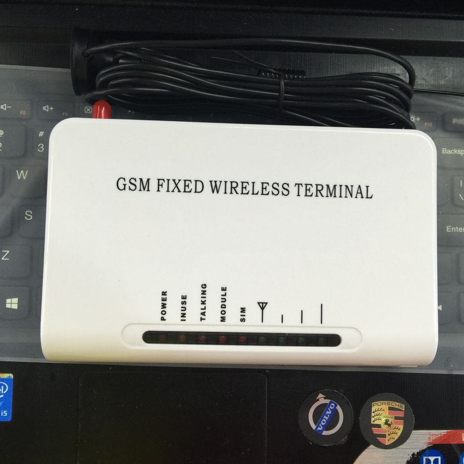 gsm gateway FWT fixed wireless terminal based on SIM card for connecting  desk phone to make phone call or PSTN alarm Panel