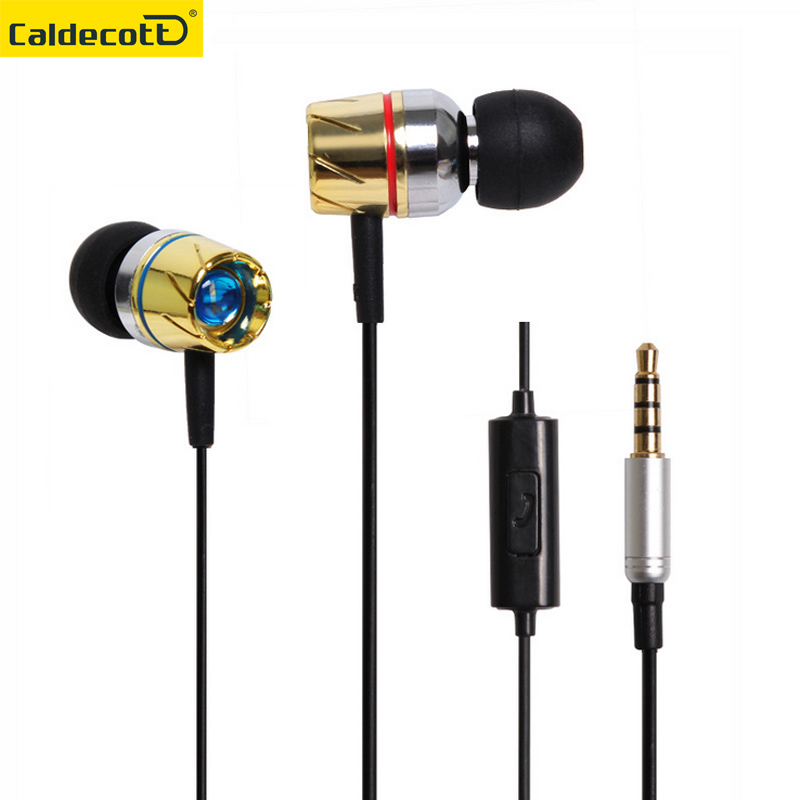 Original turbine In-Ear Metal Stereo Earphones With Mic Noise Cancelling Earbuds Wired Earphone HiFi EarPhones For xiaomi