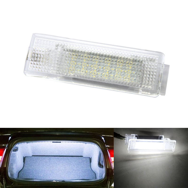 Error Free LED Car Interior Footwell Luggage Compartment Lamp Auto Light Bulb for VW GOLF4 5 6 EOS Jetta Passat CC Tiguan Seat
