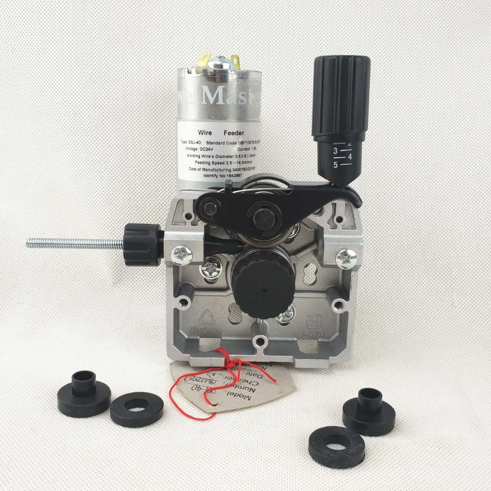 Welding Wire Feeder 24V 25W Wire Feed Assembly 0.8-1.0mm/.03-.04