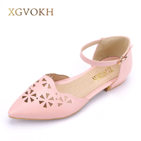 XGVOKH Brand New Casual Sandal Pointed National Style Women Sandals Bohemia Flats Shoes Dress Summer Women