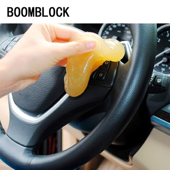 BOOMBLOCK Clean Gel For Lada Granta Vesta Kalina Citroen C4 C5 C3 Mazda 3 6 Cx-5 Car Styling Multifunction Stickers Accessories image