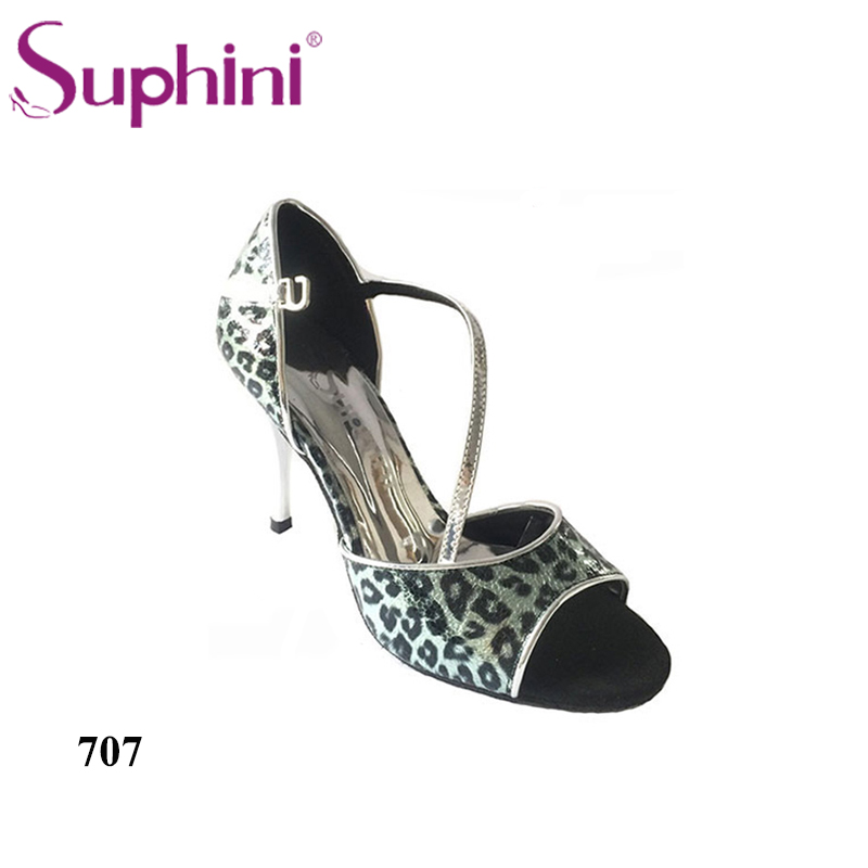 Free Shipping Suphini New Arrival Tango Shoes High Heel Tango Party Shoes Classic Design Hot Sale Dance Shoes
