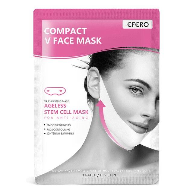EFERO Miracle V Shape Lifting Face Mask Face Slim Chin Check Lift Peel-off Mask Facial Neck Masks  Face Slimming Skin Care TSLM1 5