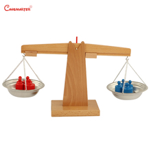 Montessori Balance Weights Sensory Educational Teaching Toys Sensorial Exercises Games for Preschool kids MA064-3
