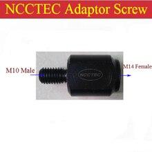 NCCTEC адаптер Резьбовая резьба M14 female-M10 наружный редуктор для угловых ручных шлифовальных машин Полировальные машины с шпинделем M14