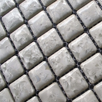 White Color Ceramic Porcelain Kitchen Backsplash Bathroom Floor Tiles Home Improvement Tile Wall Mosaic