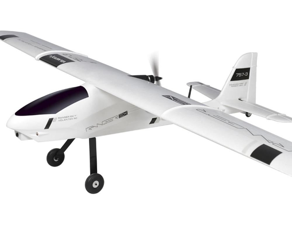 Volantex Ranger EX RC PNP/ARF Plane Model W/ Motor Servo 40A ESC W/O Battery volantex trainstar ex rc kit plane model w o brushless motor servo esc battery