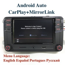 "Android Auto MIB 6,5 ""Auto Radio Noname RCD330 6RD035187B CarPlay APP Für VW Tiguan Golf 5 6 Jetta MK5 MK6 Passat Polo Touran"