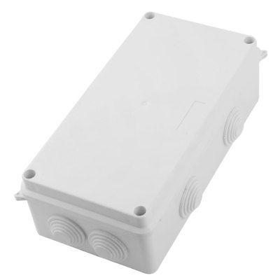 5pcs Electric Plastic Black Waterproof Case Project Junction Box 40*20*11mm T9I