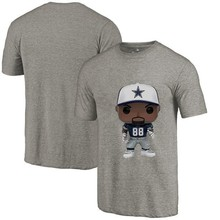 GMANCL Style Men s Summer T-Shirt Cowboys Fans Dallas 88 Dez Bryant Cartoon  O-neck fff3be1ec
