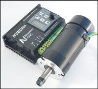 Nvbdh 400 w dc brushless motor sem escova motorista de motor do eixo e kit motorista