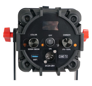 Image 4 - 2 Pcs CAME TV Boltzen 100w Fresnel Focusable LED 이중 색상 키트 Led 비디오 라이트