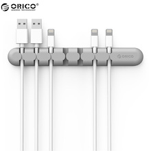 ORICO cbs7 Устройства для сматывания шнуров Кабель наушников Организатор Провода хранения кремния Зарядное устройство Держатель кабеля Зажимы для MP3, MP4, Мышь, наушники