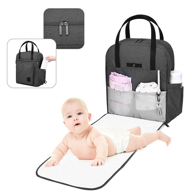 mommore Nowy plecak dla ciężarnych Plecak na pieluchy dla - Pieluchy i Trenowanie toalety - Zdjęcie 4