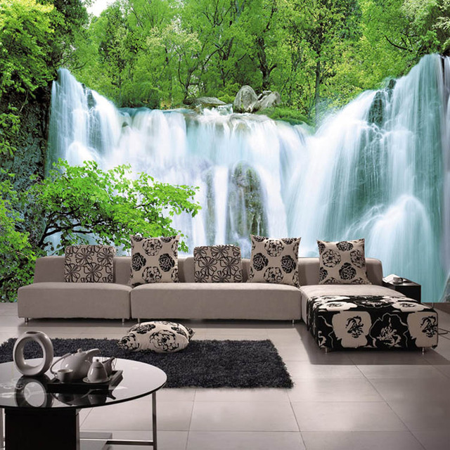 Wholesale High quality PVC 3d Ceiling wallpaper wall covering ...