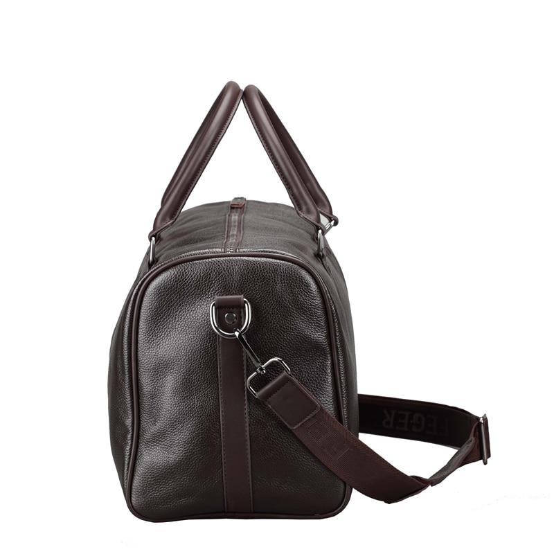 bolsa weekend duffle de couro Composição : 100% Top Layer Cowhide Leather