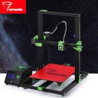 Newest TEVO Tornado Fully Assembled 3D Printer Impresora 3D Full Aluminium Frame With Titan Extruder Large