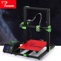 Newest TEVO Tornado Fully Assembled 3D Printer Impresora 3D Full Aluminium Frame With Titan Extruder Large