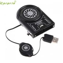 Хорошие продажи мини USB охладитель воздуха Извлечение охлаждающая подставка вентилятор для ноутбука Прямая доставка и оптовая продажа 8 января